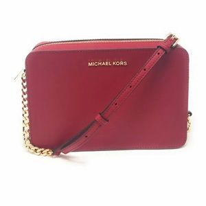 Michael Kors Jet Set Item Large Handbag Clutch